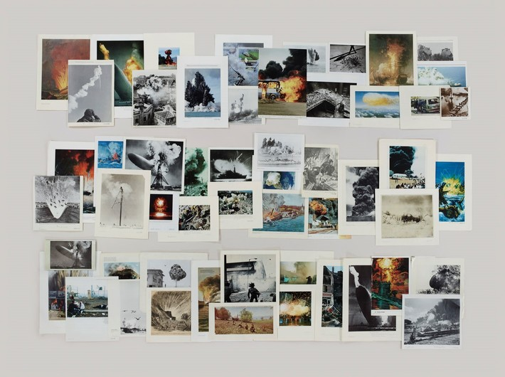 Taryn Simon, //Folder: Explosions//, 2012 © Taryn Simon. Courtesy of the artist and Gagosian Gallery