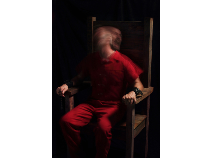 Generic Art Solutions, //Studium według obrazu// Portret papieża Innocentego //2//, 2010, fotografia, 111 cm × 76 cm