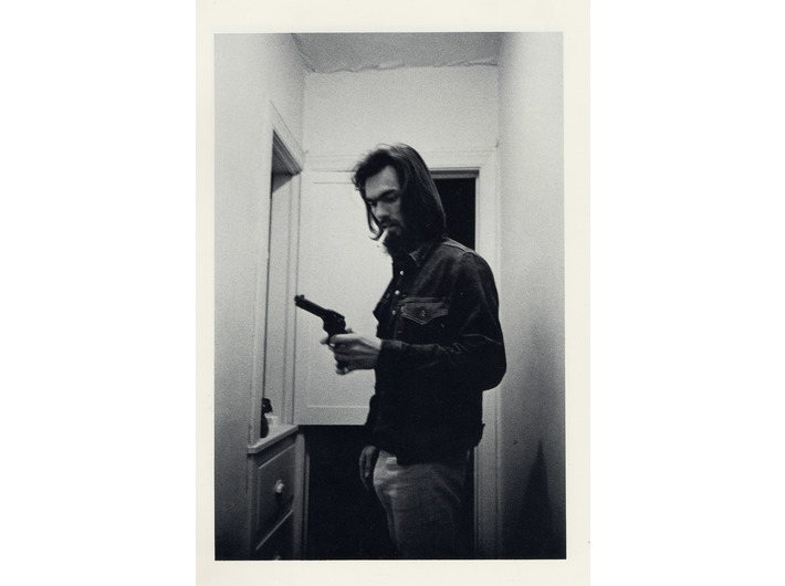 Larry Clark, untitled //(T34)//, 1971, from the series //Tulsa//, photograph, 35.56 × 27.94 cm