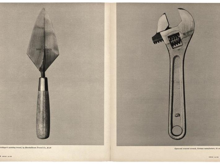 "Walker Evans, ""Beauties of the Common Tool,"" //Fortune//, July 1955. Courtesy of The Metropolitan Museum of Art"