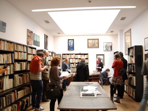 Visiting the Mieczysław Porębski's Library, photo Katarzyna Wincenciak
