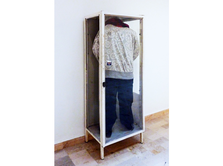 Agnieszka Ozimek, //Self-portrait Without Me//, 2014, installation