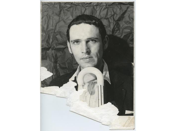 Krzysztof Niemczyk, before 1970, photograph by an unknown author, courtesy of Monika Niemczyk