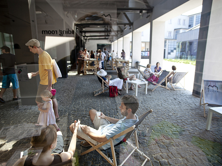 The Second Life of a Book, 2013, photo: Krakow Festival Office