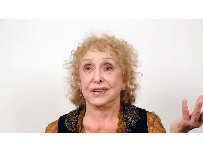 Karol Radziszewski, //Talking to Carolee Schneemann//, 2012, video, 39 min 54 s,courtesy of the artist