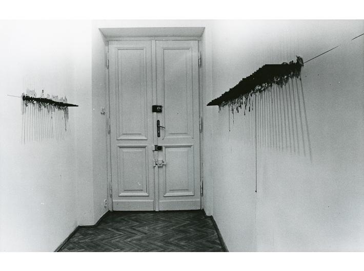 Mikołaj Smoczyński, //Przejście//, Galeria Foksal w Warszawie, 1995