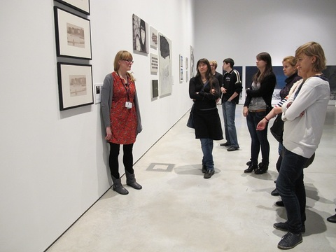 //The Audience and the Curator. How Does an Exhibition Come into Being?//, photo: Emilia Pawłusz