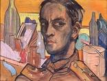 Stanisław Ignacy Witkiewicz, //Autoportret//, 1917, pastel / papier, Biblioteka Mieczysława Porębskiego1