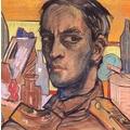 Stanisł'aw Ignacy Witkiewicz, //Self-portrait//, 1917, pastel / paper, The Mieczysław Porębski Library337