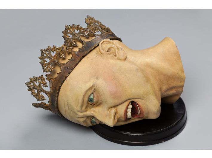 Piotr Blamowski, //Głowa królowej//, 2012, obiekt, 25 x 38 x 28 cm