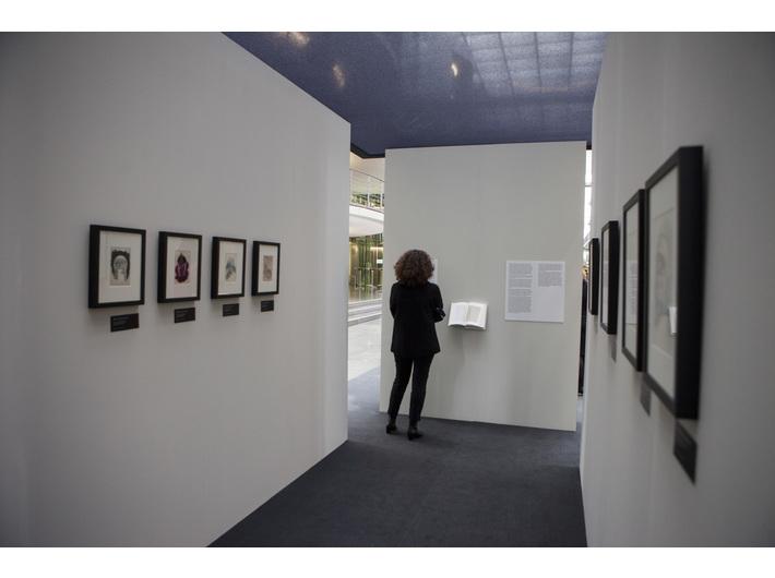 Otwarcie wystawy //Śmierć nie ma ostatniego słowa//, Bundestag, Paul-Löbe-Haus, 27.1.2015, courtesy of Deutscher Bundestag/ Julia Nowak