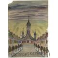 Nikifor Krynicki, lata 60., gwasz / papier, 29,5 × 20,8 cm, kolekcja prywatna339