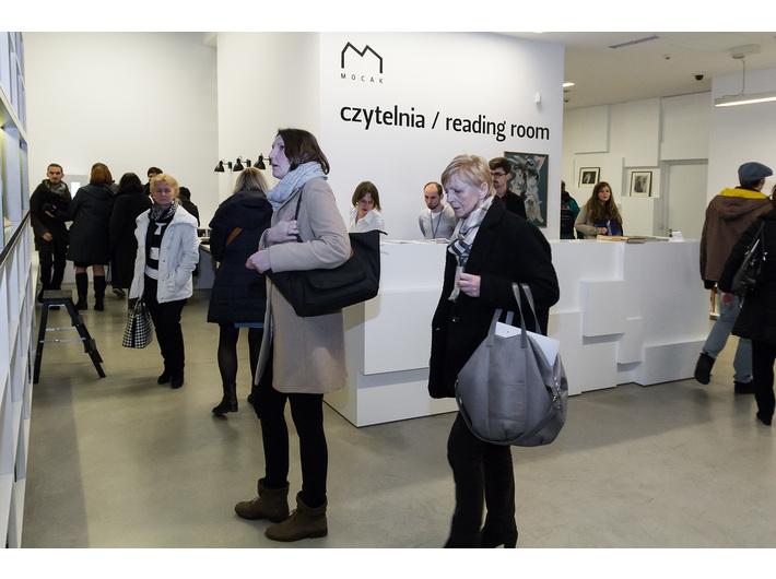Wystawa Mariana Szulca //Malarstwo, rzeźba, fotografia//, Biblioteka MOCAK-u, fot. Rafał Sosin