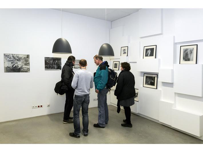 Wystawa Mariana Szulca //Malarstwo, rzeźba, fotografia//, Biblioteka MOCAK-u, fot. Rafał Sosin - 17