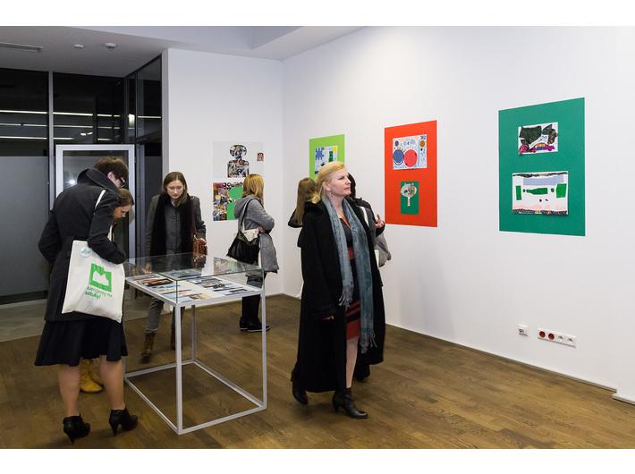 Wystawa prac uczniów Zespołu Szkół Specjalnych nr 2 w Krakowie, fot. Rafał Sosin