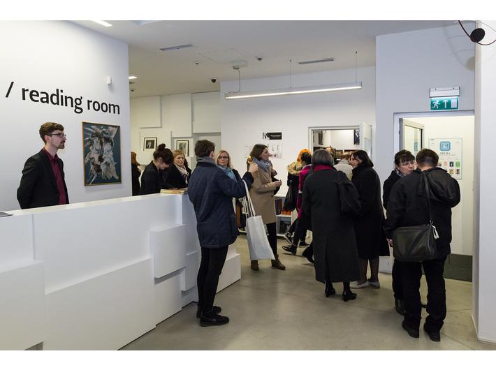Wystawa Mariana Szulca //Malarstwo, rzeźba, fotografia//, Biblioteka MOCAK-u, fot. Rafał Sosin - 25