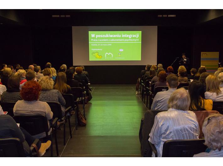 Konferencja //W poszukiwaniu integracji. Praca z uczniem z zaburzeniami psychicznymi//, fot. Rafał Sosin - 4