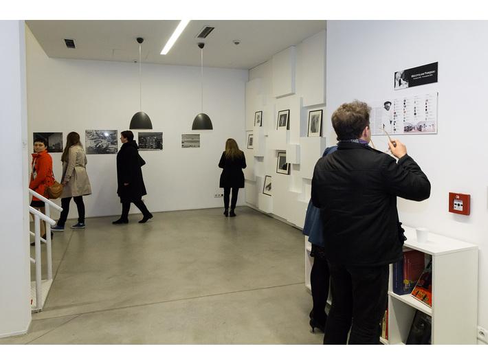 Wernisaż wystawy Mariana Szulca, Biblioteka MOCAK-u - 4