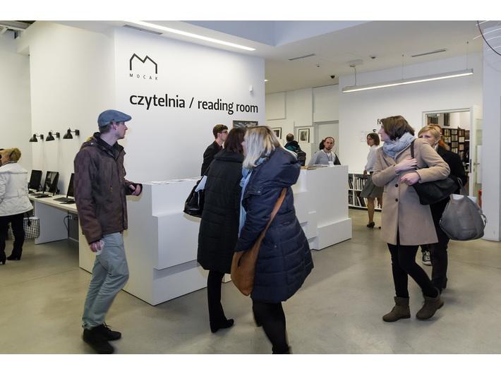 Wernisaż wystawy Mariana Szulca, Biblioteka MOCAK-u - 5