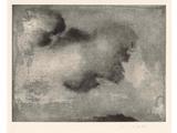 Lino Mannocci, //Chmura//, monotypia2
