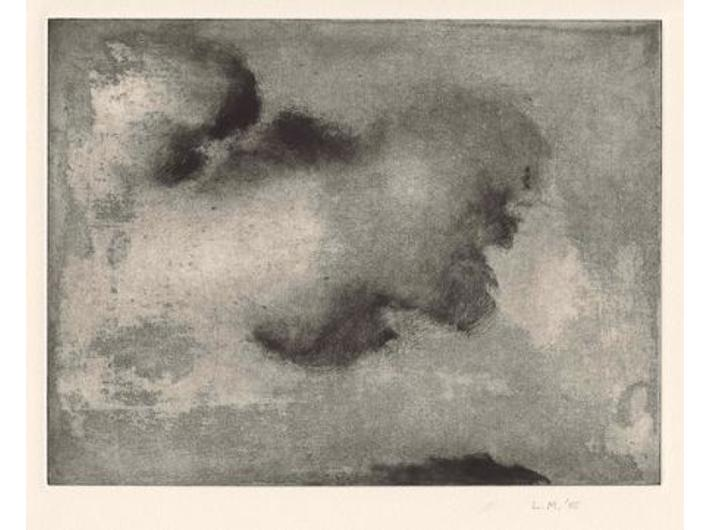 Lino Mannocci, //Cloud//, monotype - 2