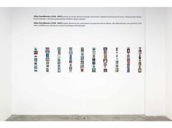 Wystawa //Nikifory//, Muzeum Sztuki Współczesnej w Krakowie MOCAK, fot. Rafał Sosin