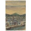 Nikifor Krynicki, lata 30.,  akwarela / papier, 29,3 × 19,8 cm, kolekcja prywatna360