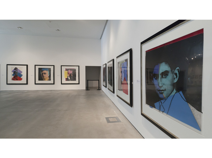 Andy Warhol //Ten Portraits of Jews of the 20th Century// exhibition, private collection, photo: Rafał Sosin