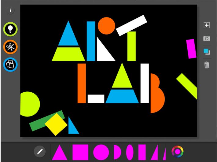 Aplikacja MoMA Art Lab