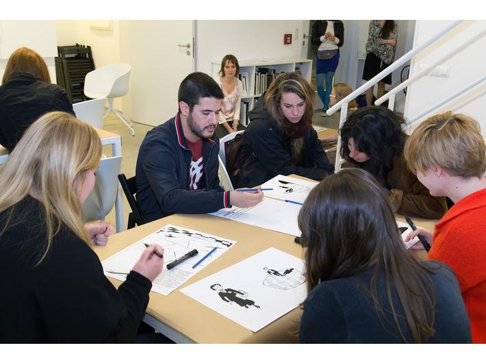Warsztaty z udziałem Michela Kichki, Noc Muzeów, Biblioteka MOCAK-u