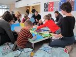 X Dzień Otwartych Drzwi Muzeów Krakowskich w MOCAK-u, warsztaty //Żywe muzeum//, 23.11.20142