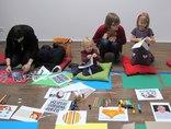 X Dzień Otwartych Drzwi Muzeów Krakowskich w MOCAK-u, warsztaty //Żywe muzeum//, 23.11.20144