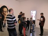 X Dzień Otwartych Drzwi Muzeów Krakowskich w MOCAK-u, 23.11.2014, wystawa Juliana Opiego //Rzeźby, obrazy, filmy//9
