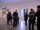 X Dzień Otwartych Drzwi Muzeów Krakowskich w MOCAK-u, 23.11.2014, wystawa Juliana Opiego //Rzeźby, obrazy, filmy//10