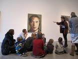 X Dzień Otwartych Drzwi Muzeów Krakowskich w MOCAK-u, 23.11.2014, wystawa Juliana Opiego //Rzeźby, obrazy, filmy//11