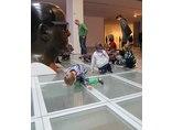 X Dzień Otwartych Drzwi Muzeów Krakowskich w MOCAK-u, 23.11.2014, wystawa Juliana Opiego //Rzeźby, obrazy, filmy//12