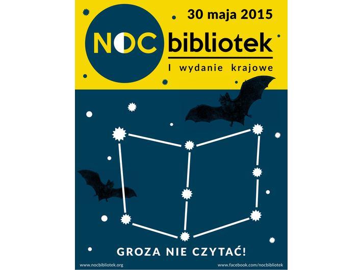 Noc Bibliotek, 30 maja 2015