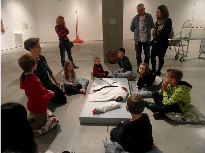 Workshops, Education Department, The MOCAK Collection exhibition