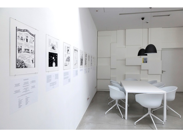 Wystawa //Polska – Izrael – Niemcy. Doświadczenie Auschwitz//, Biblioteka MOCAK-u