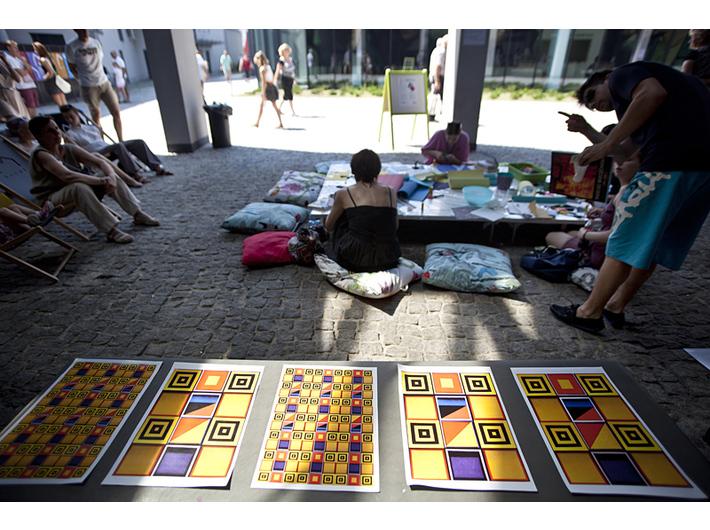 Drugie Życie Książki, 2013, Muzeum Sztuki Współczesnej w Krakowie MOCAK, z archiwum Krakowskiego Biura Festiwalowego, fot. Tomasz Wiech