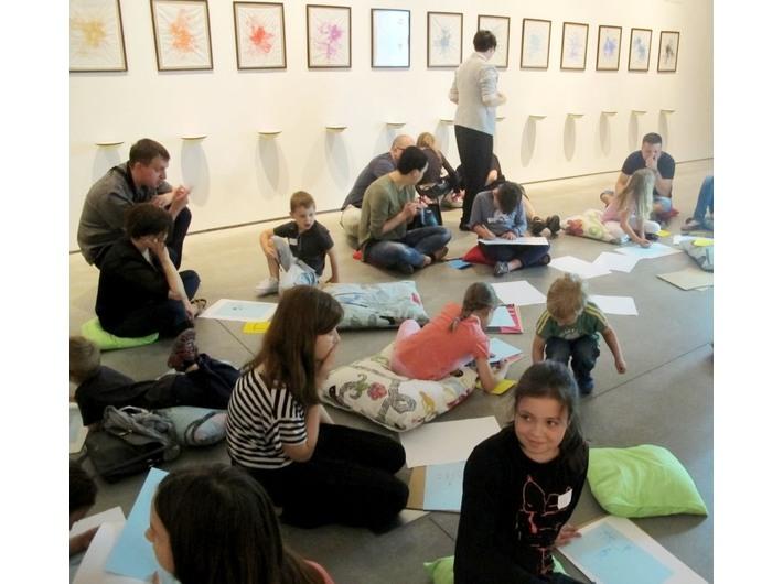 Warsztaty edukacyjne, Muzeum Sztuki Współczesnej w Krakowie MOCAK, wystawa Kolekcji MOCAK-u
