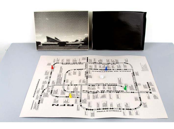Wilhelm Sasnal, //Board Game//, print, 2000, MOCAK Collection