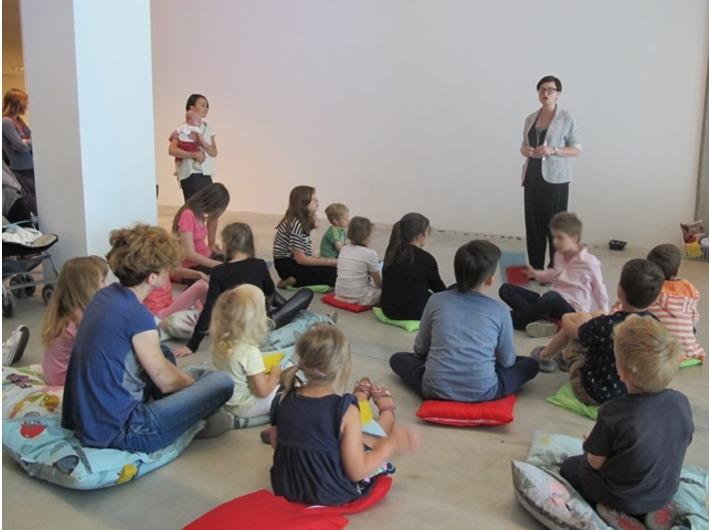 Warsztaty //Czym jest instalacja?// z cyklu //Twórcza Kolekcja//, Dział Edukacji MOCAK-u, 26.7.2015