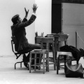 Tadeusz Kantor in rehearsal of //The Dead Class// at the Royal College of Art in Edinburg, 1976, courtesy of the Demarco European Art Foundation406