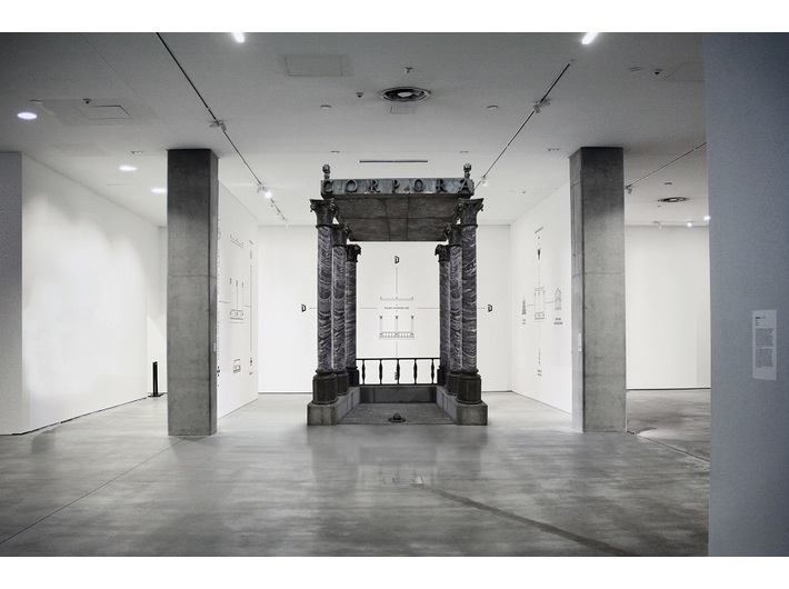Visualisation of the exhibition //Impossible Objects//, © Institute of Architecture / Jakub Woynarowski