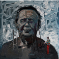 Csaba Nemes, //Autorytet//, 2012, z cyklu //Imię ojca: Csaba Nemes//, olej / płótno, 100 × 100 cm, courtesy Knoll Galleries Vienna & Budapest429