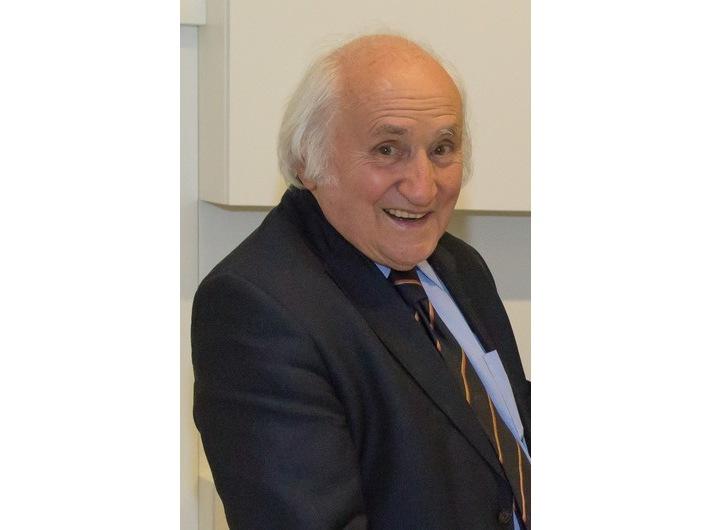 Richard Demarco at MOCAK Library