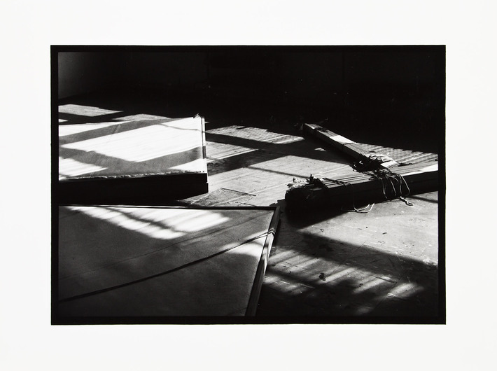 Double Object, Instalacja w Atelier, Lublin 1980