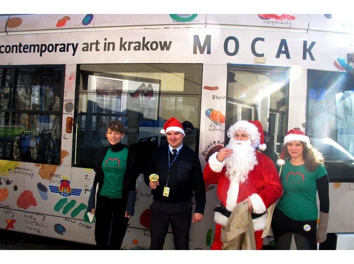 MOCAK Santa Claus Tram, 2013