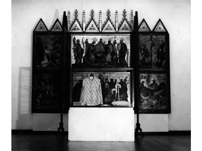//Ołtarz//, Muzeum Narodowe w Warszawie 1976 z archiwum artysty